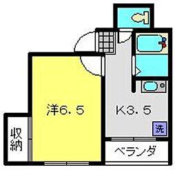 石黒ビル[4階]の間取り