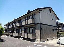 愛知県額田郡幸田町大字芦谷字大西の賃貸アパートの外観