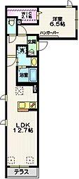 (仮称)大森東5丁目メゾン 1階1LDKの間取り