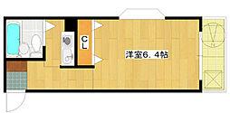第22新井ビル[303号室]の間取り