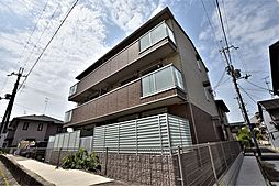 大阪府羽曳野市南恵我之荘8丁目の賃貸アパートの外観
