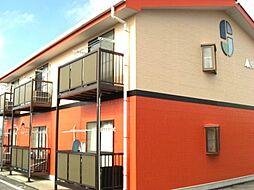 長野県伊那市境の賃貸アパートの外観