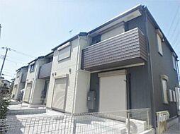 東京都日野市東平山1丁目の賃貸アパートの外観