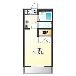 Mh−Arc三蔵子[1階]の間取り