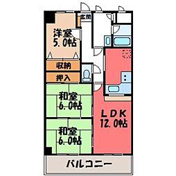 蔵の街マンション[4階]の間取り