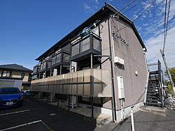 神奈川県厚木市旭町3丁目の賃貸アパートの外観