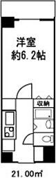 東京都墨田区立川4丁目の賃貸マンションの間取り