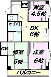 エクセレント94[1階]の間取り