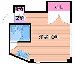 マンションSGI京街道[5階]の間取り