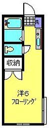SHALL HOUSE妙蓮寺[103号室]の間取り