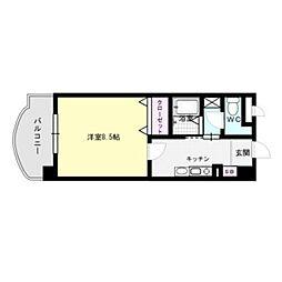 レークセンターガーデンU[4階]の間取り