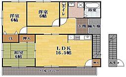 メッツマンション[2階]の間取り