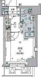 リヴシティ横濱弘明寺弐番館 5階1Kの間取り