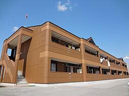 滋賀県愛知郡愛荘町野々目の賃貸マンションの外観