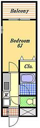 U−BIGタワー[8階]の間取り