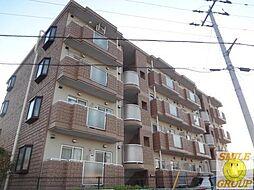 千葉県市川市田尻5丁目の賃貸マンションの外観