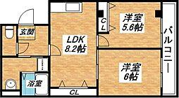 リュストル平野[1階]の外観