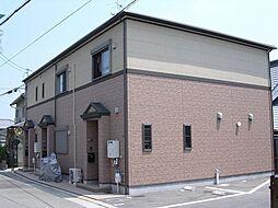 兵庫県宝塚市山本中1丁目の賃貸アパートの外観