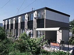 愛知県岡崎市若松町字東荒子の賃貸アパートの外観