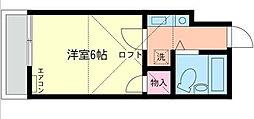 ドリームアロー円蔵II[103号室]の間取り
