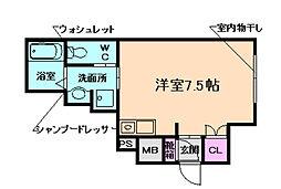 森永マンション[3階]の間取り
