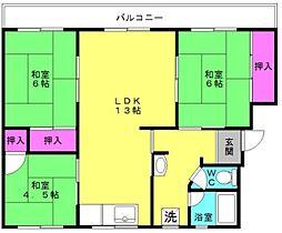 [一戸建] 兵庫県加古川市加古川町西河原 の賃貸【/】の間取り