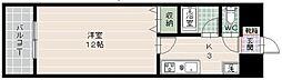 日興ビルII[4階]の間取り