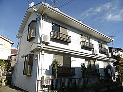 東京都東村山市廻田町1丁目の賃貸アパートの外観
