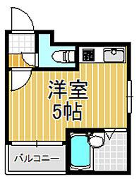 大宝 小阪駅前ヴィラデステ[4階]の間取り