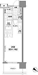 パークハビオ渋谷神山町[10階]の間取り