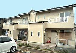 新潟県新発田市五十公野の賃貸アパートの外観