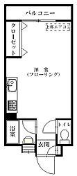 福岡県福岡市南区向野2丁目の賃貸マンションの間取り