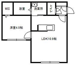 エターナルステージ[4階]の間取り