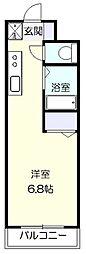 グッドウィルたまプラーザ[2階]の間取り