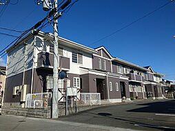 滋賀県近江八幡市土田町の賃貸アパートの外観