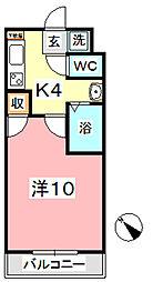 ヴェルニパレ[4階]の間取り