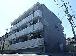 栃木県宇都宮市峰4丁目の賃貸マンションの外観