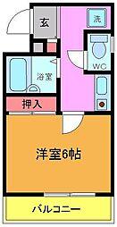 タニーマンション[3階]の間取り