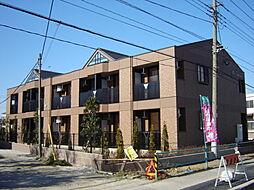埼玉県八潮市大字西袋の賃貸アパートの外観