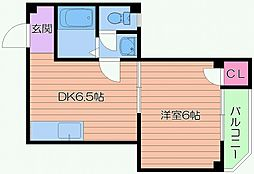 エトワルKII[2階]の間取り
