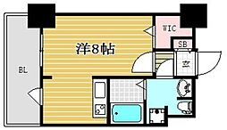 ラファセ箱崎[503号室]の間取り