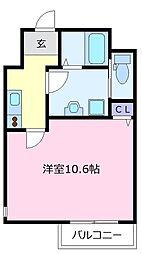 エヌエムサンカンテドゥ[1階]の間取り