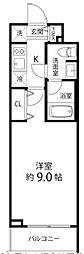 東京メトロ副都心線 地下鉄赤塚駅 徒歩3分の賃貸マンション 1階1Kの間取り