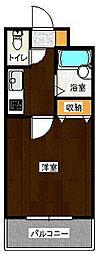 ユートピア原田弐番館[103号室]の間取り
