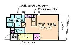 Ritz SQUARE[3階]の間取り
