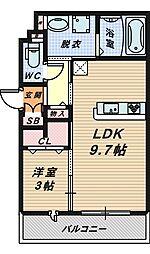 見上様 新築共同住宅[1階]の間取り