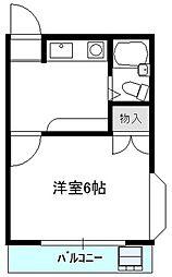 桜台ローズハイム1[1階]の間取り