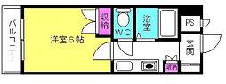 D−スクウェア加古川[3階]の間取り
