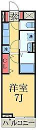 千葉県市原市惣社1丁目の賃貸アパートの間取り