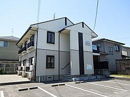 新潟県新発田市舟入町1丁目の賃貸アパートの外観
